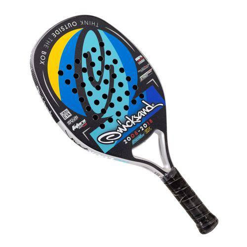 Tudo sobre 'Raquete de Beach Tennis Quicksand Nolook Black'