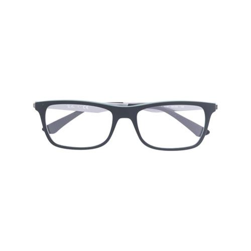 Ray-Ban Óculos de Grau Retangular - Preto