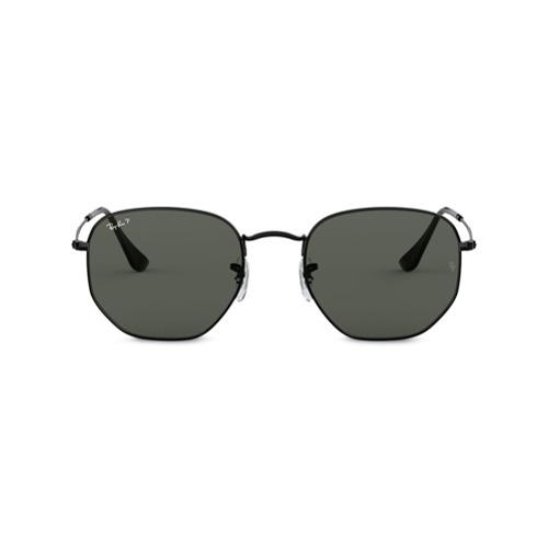 Ray-Ban Óculos de Sol Geométrico - Preto