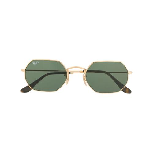 Ray-Ban Óculos de Sol Octagonal - Preto