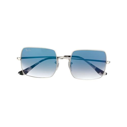 Ray-Ban Óculos de Sol Quadrado - Metálico