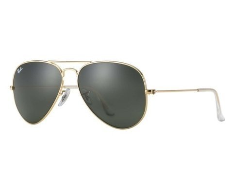 Ray-Ban Rb3025L L0205 Aviador - Dourado/verde (Preto, P)