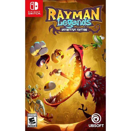Tudo sobre 'Rayman Legends Definitive Edition - Switch'