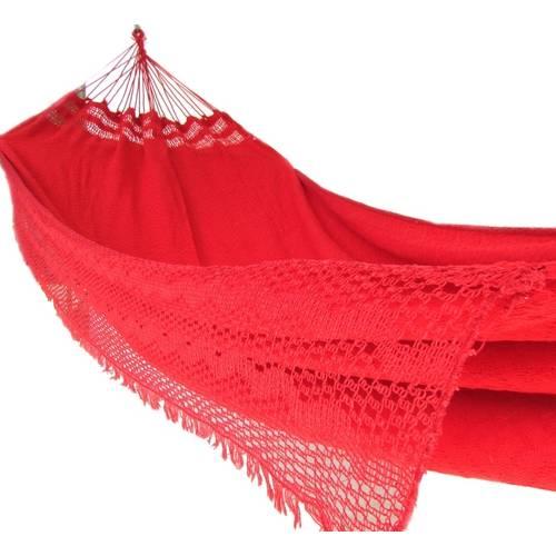 Tudo sobre 'Rede de Descanso e Dormir Casal Tambaba Vermelha Vermelho'