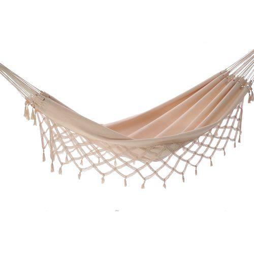 Tudo sobre 'Rede de Dormir e Descanso Casal Algodão Cru'