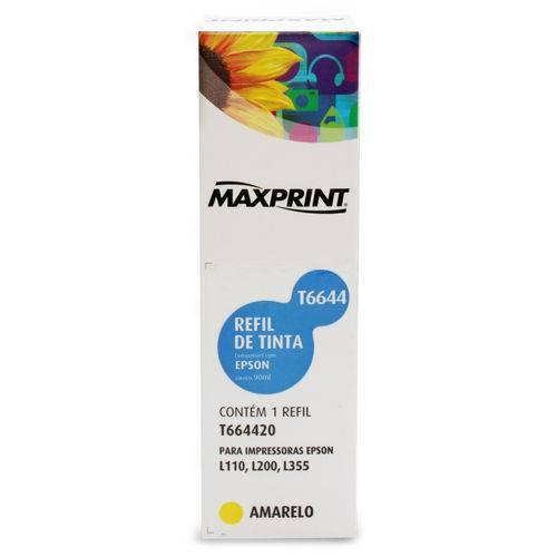 Refil de Tinta Maxprint Compatível Epson T664420/Amarelo