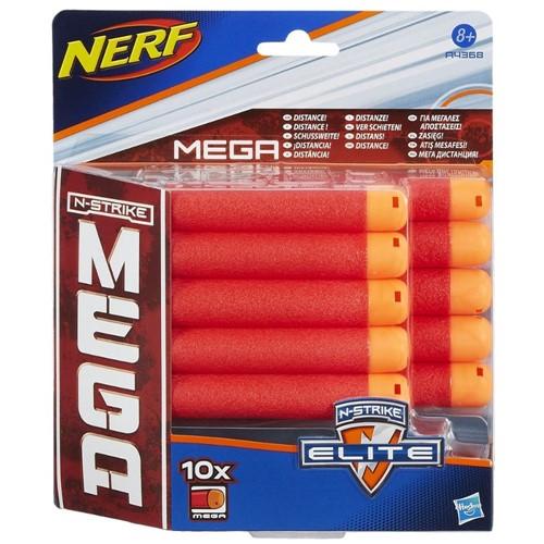 Tudo sobre 'Refil Nerf Mega 10 Dardos HASBRO'