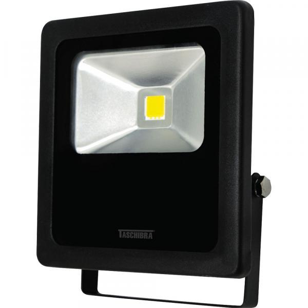 Refletor 10W TR LED 10 Taschibra Preto Bivolt