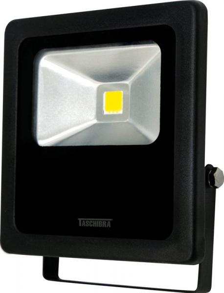 Refletor de Led 50 W Preto 6500K Taschibra Bivolt