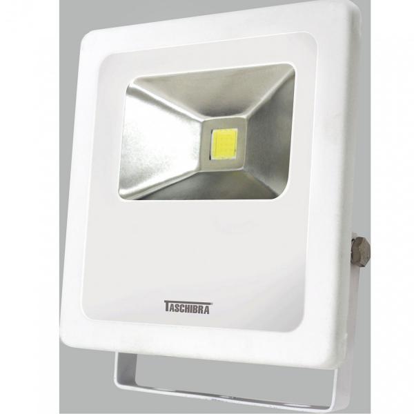 Refletor LED 20W Luz Verde TR Taschibra Branco