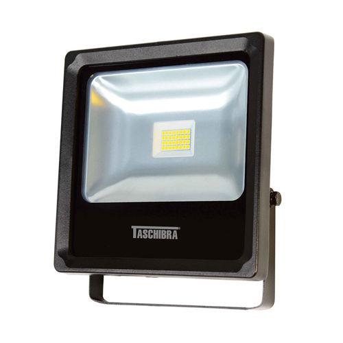Refletor LED 18W 3000K em Alumínio Preto TR 20 Taschibra
