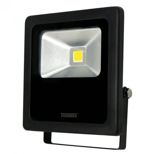 Refletor LED 50W Preto TR Taschibra 6500K Luz Branca