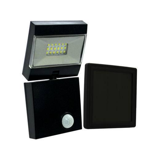 Tudo sobre 'Refletor Led com Sensor Solar Ecoforce'