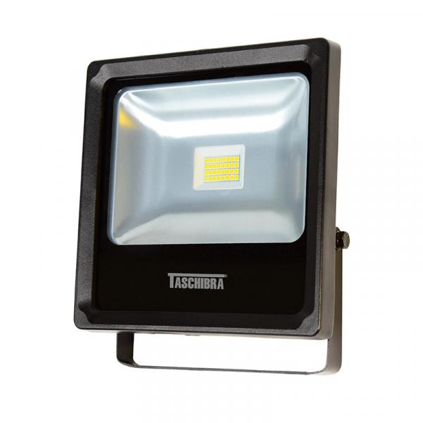 Refletor Led TR 20 18W 6500K Preto Taschibra