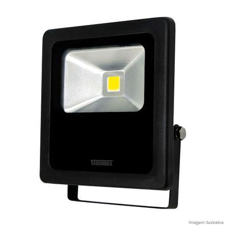 Refletor para Lâmpada TR LED 10W 3000K Preto Taschibra