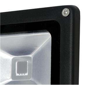 Refletor Tr Led 20 20W Luz Verde Preto