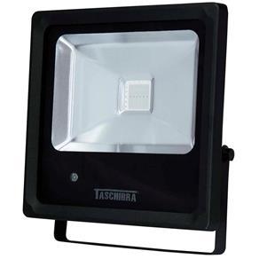 Refletor Tr Led 10 6500K Preto Taschibra