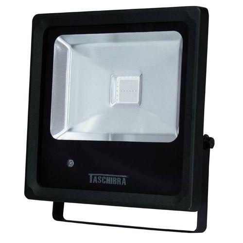 Refletor TR Led Preto 3000K 20W Taschibra 15353
