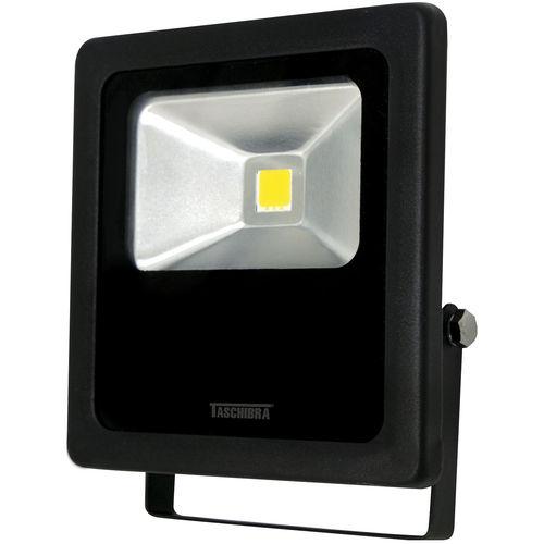 Refletor TR Taschibra LED 10 10W Verde Preto