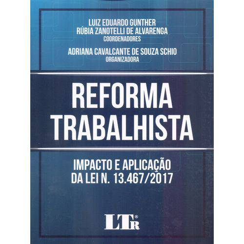 Reforma Trabalhista - 01ed/18