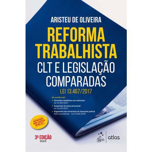 Reforma Trabalhista - 03ed/18