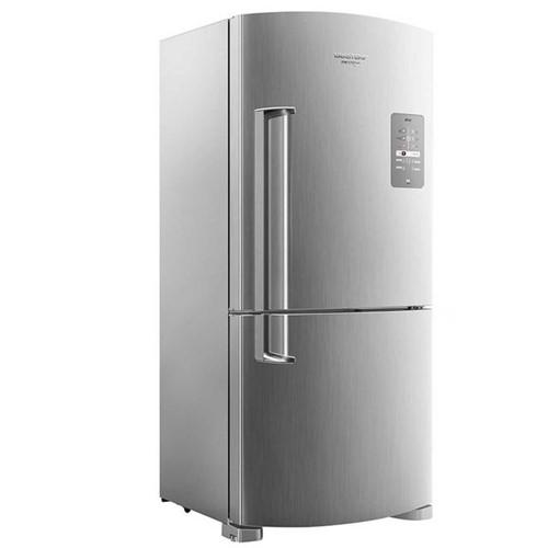Tudo sobre 'Refrigerador 573L Frost Free Inverse Maxi Platinum BRE80AK Brastemp 220V'