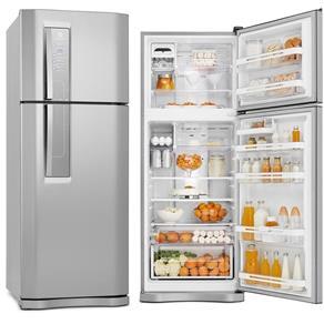 Tudo sobre 'Refrigerador Electrolux 2 Portas 427 Litros Inox Frost Free'