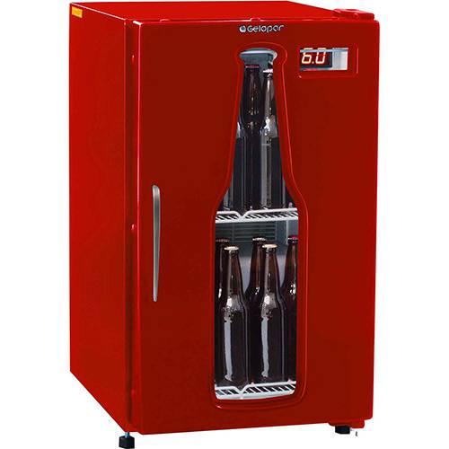 Tudo sobre 'Refrigerador para Bebidas Gelopar Cervejeira GRBA-120VM 112l Vermelho'