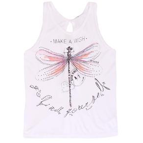 Regata Authoria Malha Dragonfly - BRANCO - G