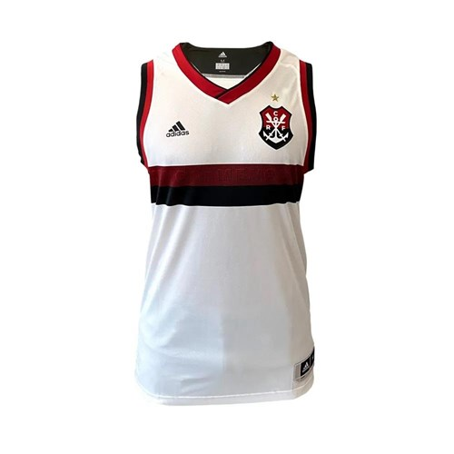 Regata Basquete Flamengo Branco - Masculino / Branco / 2GG