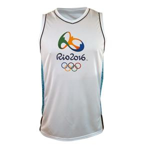 Regata Braziline Rio 2016 Quadra - 3G - Branco