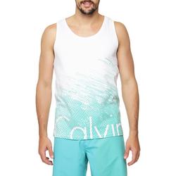 Regata Calvin Klein Jeans Estampa Frontal e Logo