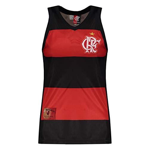 Regata Feminina Flamengo Decote V Hoop CRF-M