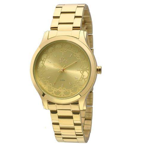 Relógio Allora Segredos do Oriente Dourado - Al2035fcp/4x