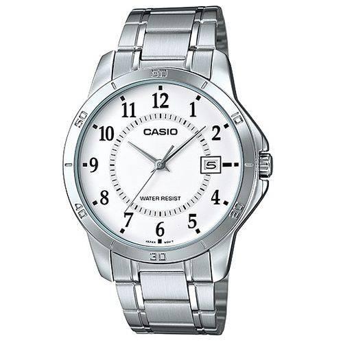 Tudo sobre 'Relógio Masculino Casio Mtp-v004d-7budf Prata'