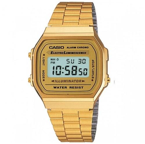 Tudo sobre 'Relógio Casio Vintage Dourado A168WG9WDFU'