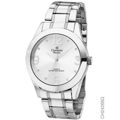 Tudo sobre 'Relógio Champion Feminino Prateado Ch24268q'