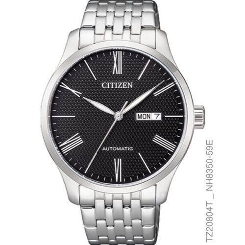 Tudo sobre 'Relógio Citizen Masculino Automático TZ20804T Prata'