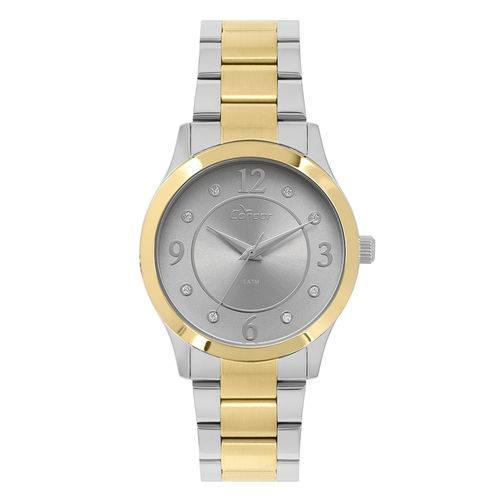 Tudo sobre 'Relógio Condor Feminino Bracelete Bicolor Co2036kve/k5c'