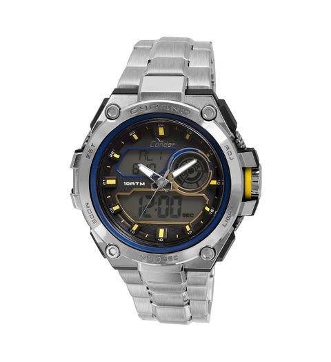 Relógio Condor Masculino Neon CO1161A/3A - Prata CO1161A/3A