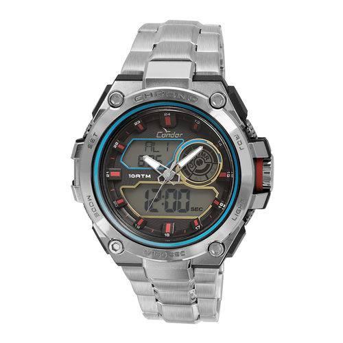 Tudo sobre 'Relógio Condor Masculino Neon CO1161A/3K - Prata'