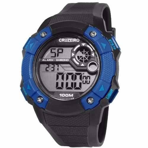 Relógio Cruzeiro Masculino - CRU1360A/8A