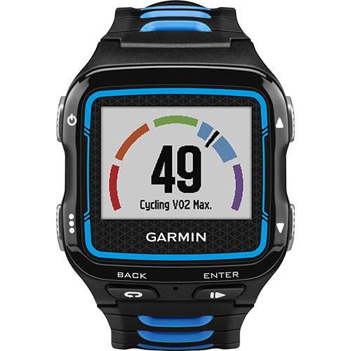 Tudo sobre 'Relógio de Corrida com GPS à Prova de Água Forerunner 920XT Azul e Preto Garmin'