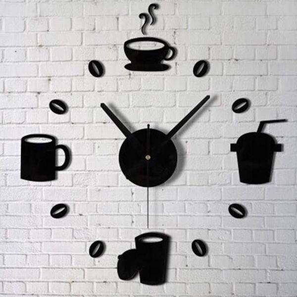 Relógio de Parede Criativo para Cozinha ou Sala - Aladimshop
