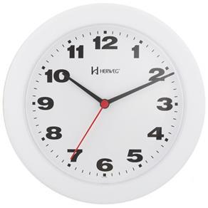 Relógio de Parede Moderno Herweg Branco 6103-21