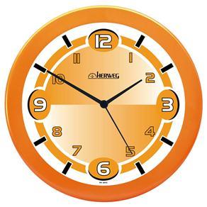 Relógio de Parede Quartz Herweg Laranja - 6158-193