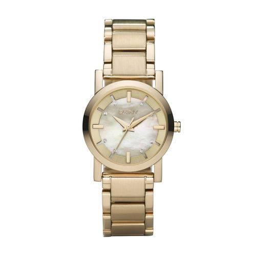 Tudo sobre 'Relógio Dkny Feminino Dourado - Gny4520/z'