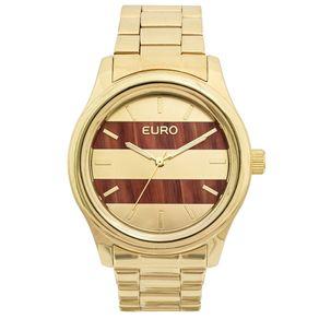Relógio Euro Feminino Madeira Fashion EU2036MAA/4L - Dourado EU2036MAA/4L