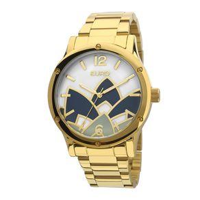 Tudo sobre 'Relógio Euro Feminino Madrepérola Dourado - EU2035YCX/4D EU2035YCX/4D'