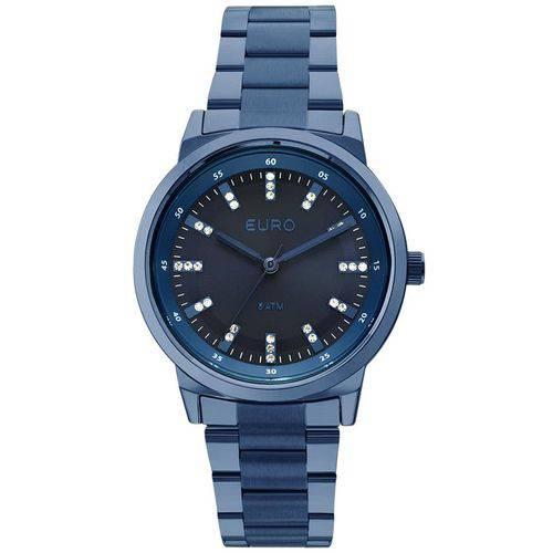 Relógio Euro Feminino Ref: Eu2036yli/4a Azul